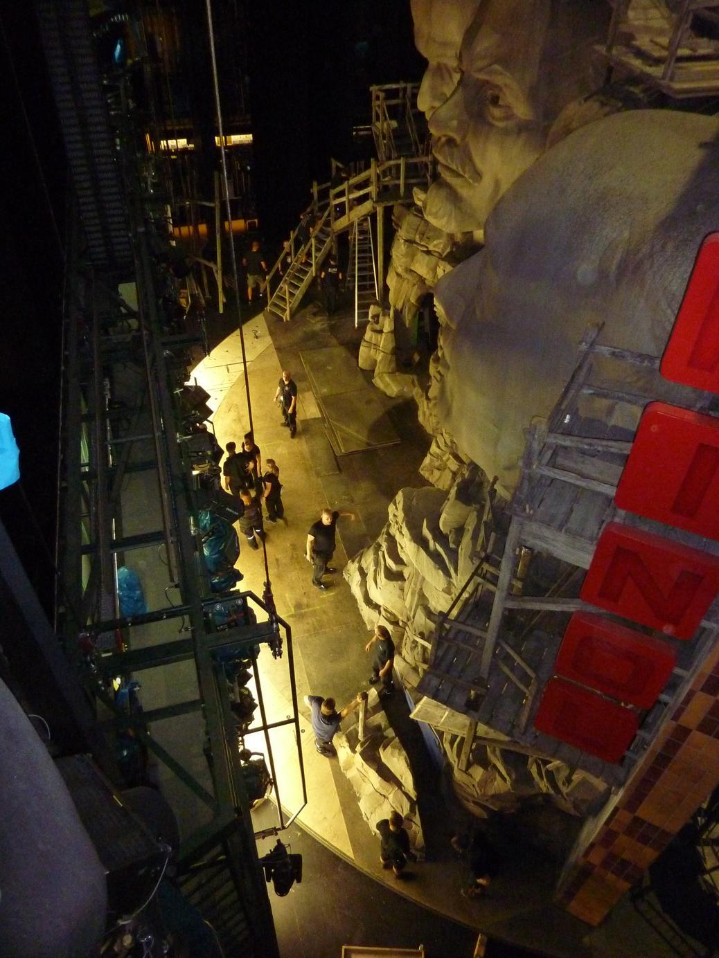 Abbau Mount Rushmore Siegfried 2015 ©Monika Gora